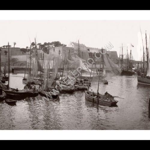 Photo d'époque Belle-Île-en-Mer 01 - Le Palais