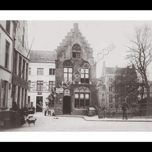 Photo d'époque Bruges n°01 - 1914