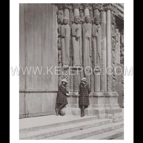 Photo d'époque Chartres n°03 - cathédrale