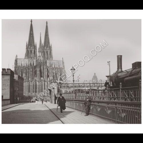 Photo d'époque Cologne n°07 - Cathédrale de Cologne