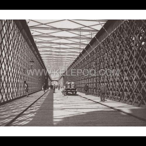 Photo d'époque Cologne n°04 - Pont de fer