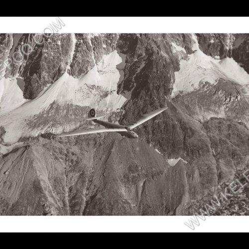 Photo d'époque dans les airs n°19 - planeur Minimoa