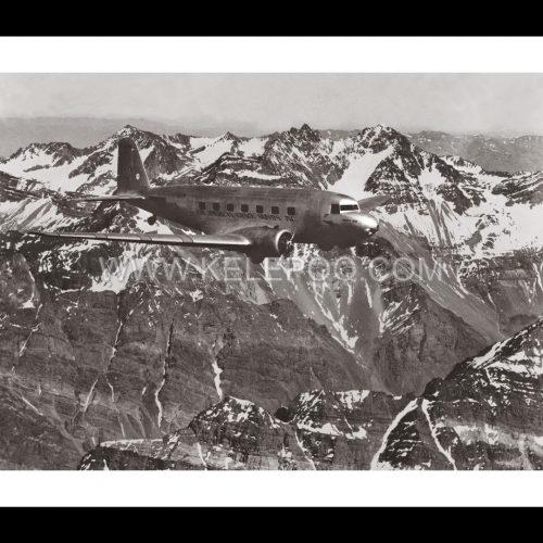 Photo d'époque dans les airs n°20 - Avion de la Pan American-Grace Airways