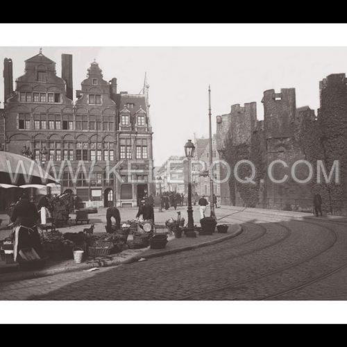 Photo d'époque Gand n°01 - 1914