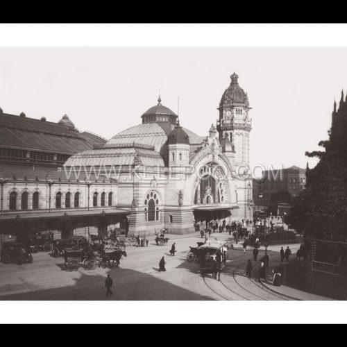 Photo d'époque Cologne n°05 - Gare de Cologne