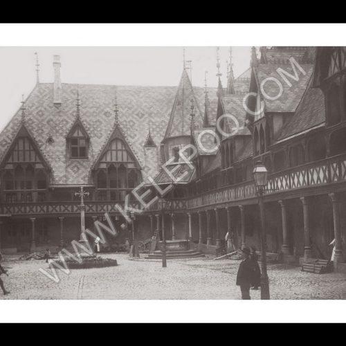Photo d'époque Beaune n°03 - Hospices de Beaune 1912