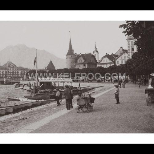 Photo d'époque Lucerne n°01