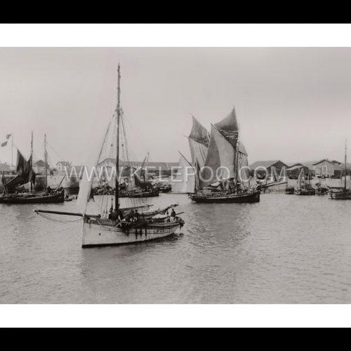 Photo d'époque Les Sables-d'Olonne n°01 - Le Port - 1900