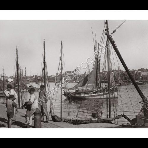Photo d'époque Les Sables-d'Olonne n°04 - Le Port