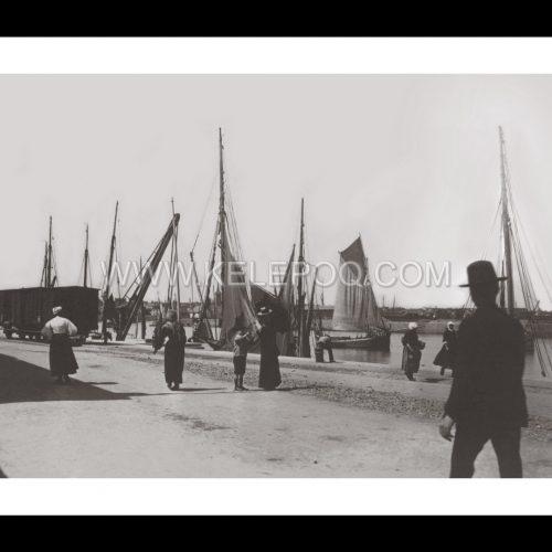 Photo d'époque Les Sables-d'Olonne n°02 - Le Port - Mai 1900