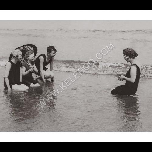 Photo d'époque mer n°54 - photo d'une photographe - Saltburn-on-Sea - Angleterre - photographe Victor Forbin