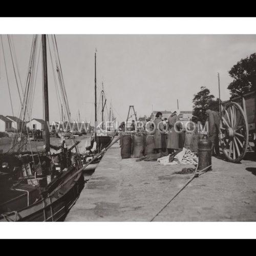Photo d'époque Noirmoutier n°11 - port de Noirmoutier
