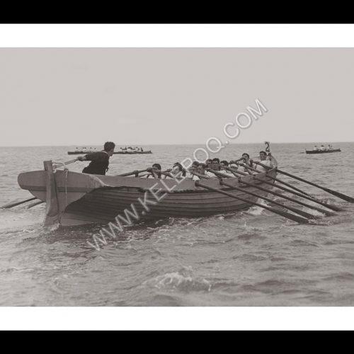 Photo d'époque sur l'eau n°25 - Ryde regatta - île de Wight, Angleterre - photographe Victor Forbin
