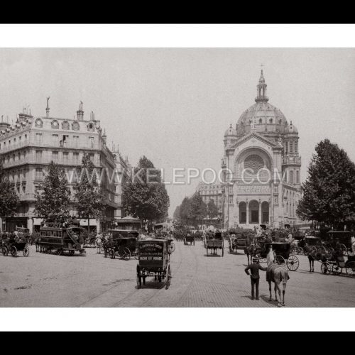 Photo d'époque Paris n°13 - Eglise Saint-Augustin