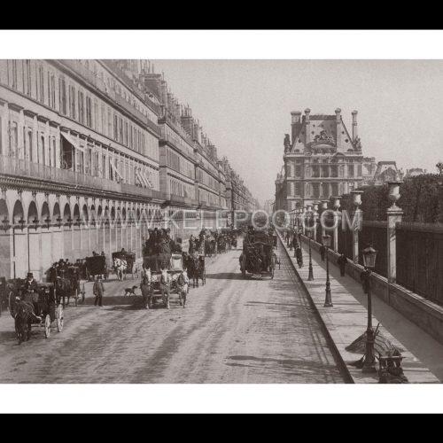 Photo d'époque Paris n°14 - rue de Rivoli
