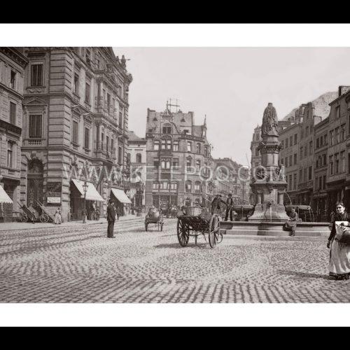 Photo d'époque Cologne n°06 - Place de Cologne