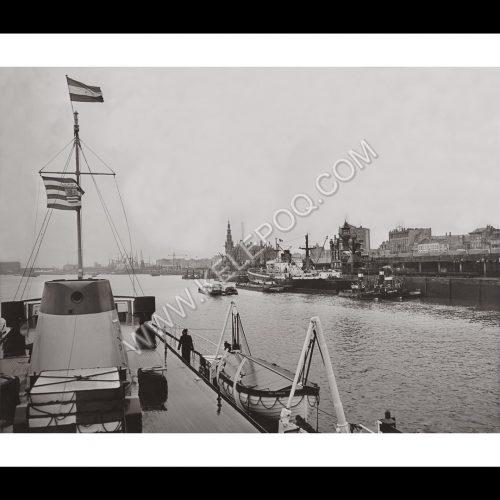Photo d'époque Amsterdam n°01 - port d'Amsterdam
