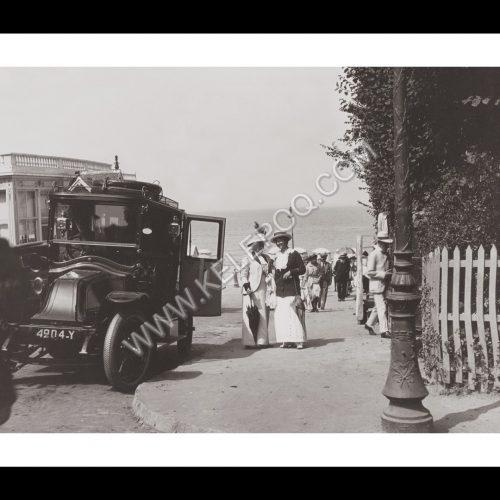 Photo d'époque Biarritz n°03 - bord de mer