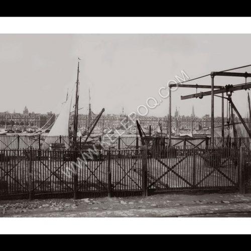 Photo d'époque Bordeaux 02 - Le port