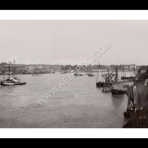 Photo d'époque Bordeaux 03 - Le port