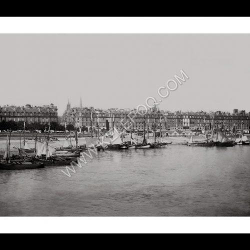 Photo d'époque Bordeaux 05 - Le port