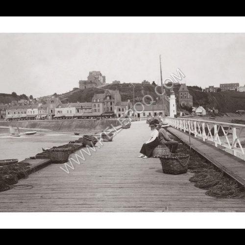 Photo d'époque Cancale n°01 - Port