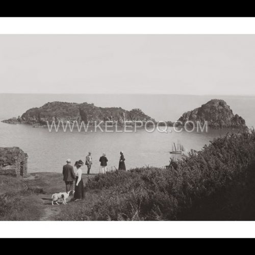 Photo d'époque Cancale n°02 - Le Rocher