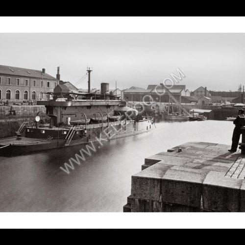 Photo d'époque Cherbourg n°01 - l'arsenal