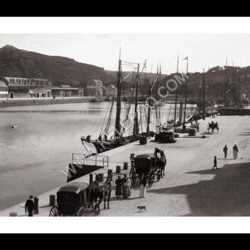 Photo d'époque Cherbourg n°03 - port de commerce