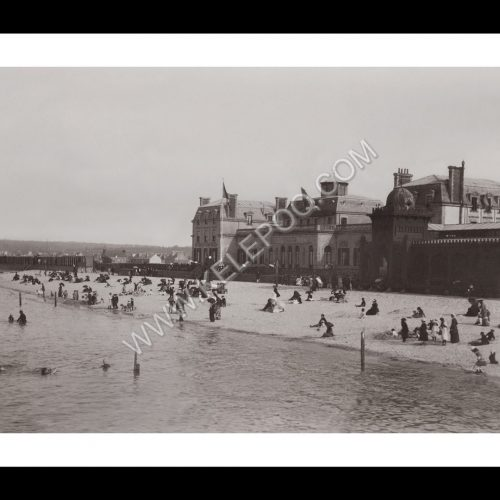 Photo d'époque Cherbourg n°04 - Etablissement Des Bains de Mer