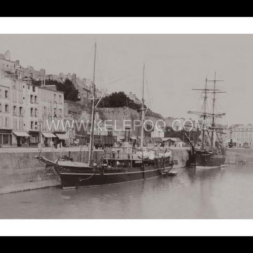 Photo d'époque Granville n°02 - Port