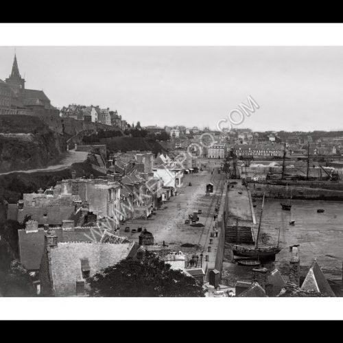 Photo d'époque Granville n°03 - Basse ville