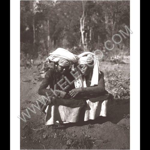 Photo d'époque inviation au voyage n°02 - femmes