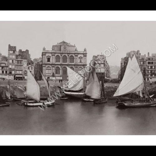 Photo d'époque Le Havre n°03 - Le Musée et L'Anse des Pilotes