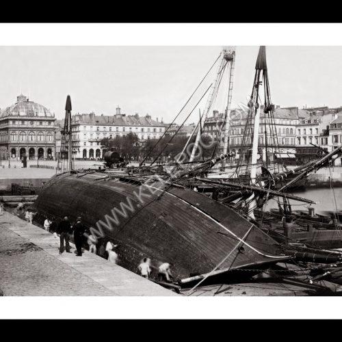 Photo d'époque Le Havre 04 - Place Louis XVI