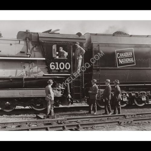 Photo d'époque locomotive n°11 - Canadian National Railway Company