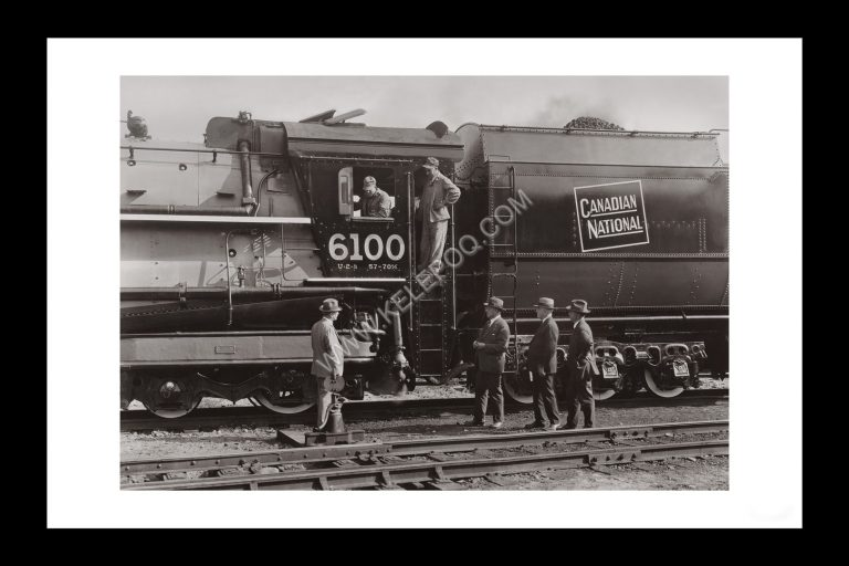 Photo d'époque locomotive n°11 - Canadian National Railway Company