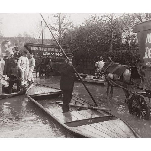 Photos d'époque Métiers n°27 - Crue de la marne - Saint-Maur-des-Fossés