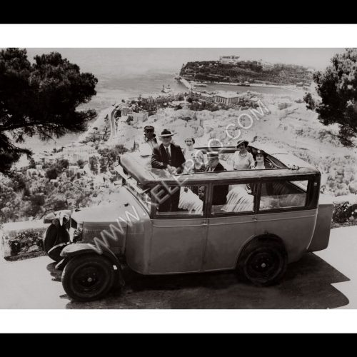 Photo d'époque Monaco n°03 - vacances en famille