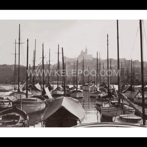 Photo d'époque Marseille n°05 - Basilique Notre-Dame-de-la-Garde