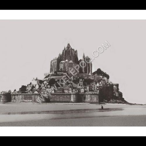 Photo d'époque Mont-Saint-Michel n°06