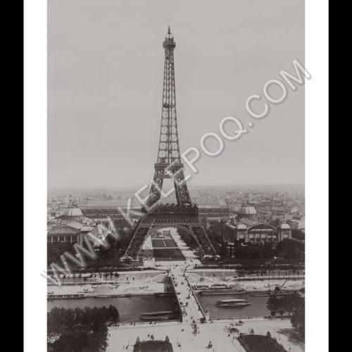 Photo d'époque Paris n°19 - Tour Eiffel - 1889