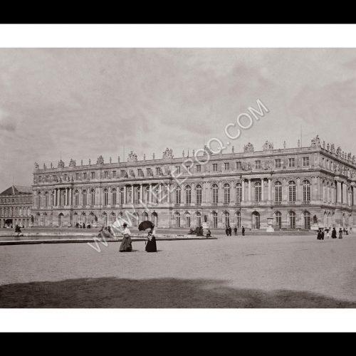 Photo d'époque Paris n°17 - Palais de Versailles - Mai 1908