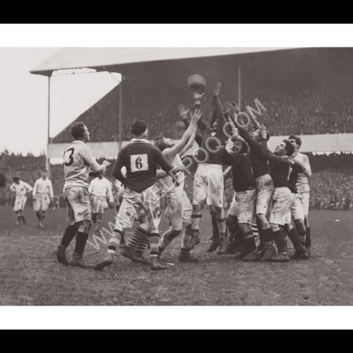 Photo d'époque sport n°59 - rugby - Irlande contre Angleterre