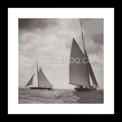 Photo d'époque Les Sables-d'Olonne n°05 - Le Port - 1900