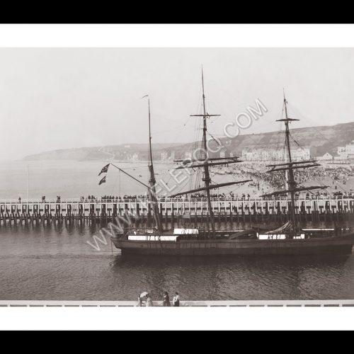 Photo d'époque BOULOGNE n°01 - Le canal et la plage - 1910