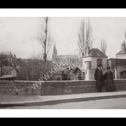 Photo d'époque CHARTRES n°06 Pont de la Courtille