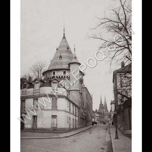 Photo d'époque CHARTRES n°07 Rue du lycée