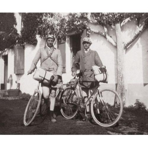 Photo d'époque cycles n°45 - Cyclistes