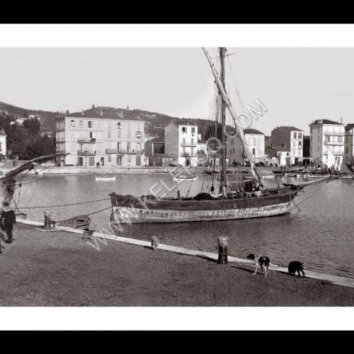 Photo d'époque Juan les Pins n°01 - Golfe-Juan